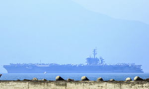 US aircraft carrier docks in Vietnam on start of landmark visit