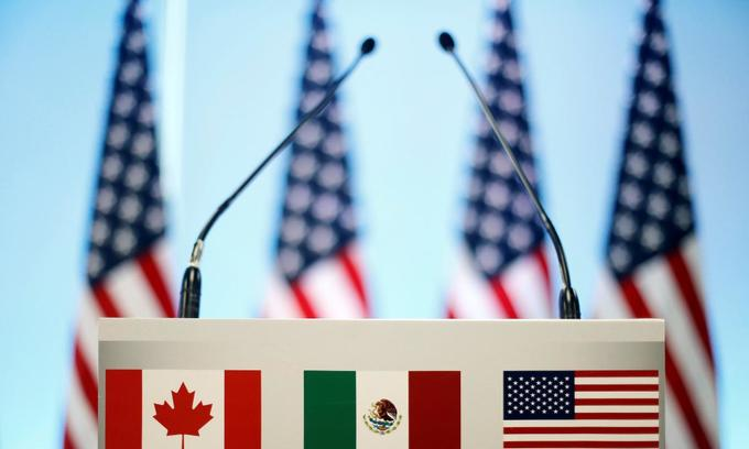 US pushes NAFTA talks pace, warns of political headwinds