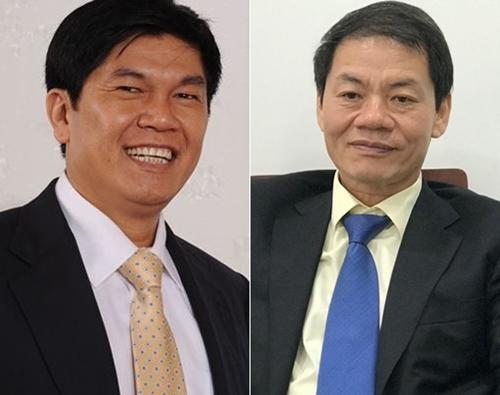 Tran Dinh Long (L) and Tran Ba Duong