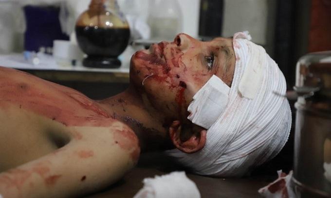 Syria regime pummels besieged Eastern Ghouta