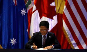 Asia-Pacific nations sign sweeping trade deal without US