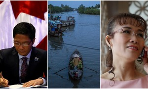 Weekly roundup: US aircraft carrier visit, the dying floating market, Vietnam's billionaires, CPTPP signed, and more