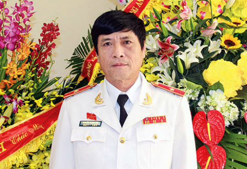 Maj. Gen. Nguyen Thanh Hoa, former head of the Ministry of Public Securitys high-technology department. Photo by Cong an nhan dan.