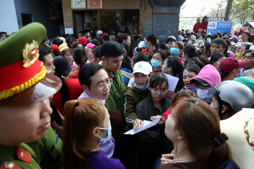 Vietnamese workers find new jobs after S Korean boss disappears owing $1.37 mln