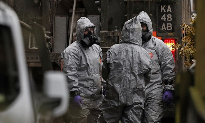 Russia says 'not guilty' of ex-spy poisoning as UK deadline looms
