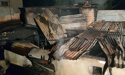 5 killed as fire engulfs house in Da Lat's old villa complex