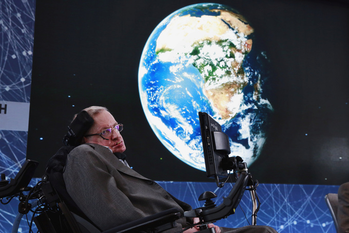 British scientist Stephen Hawking dies at age 76