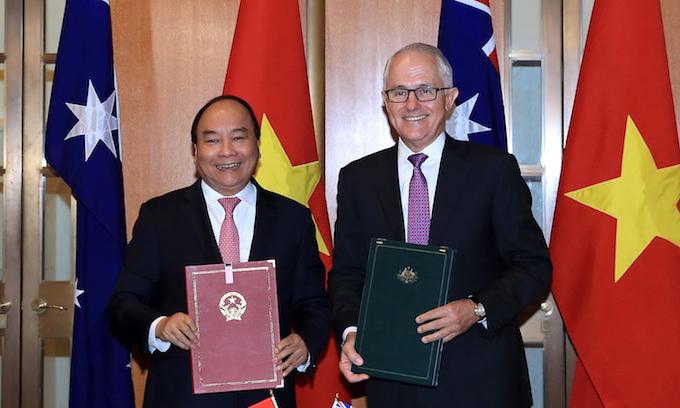 Vietnam, Australia upgrade ties to strategic partnership