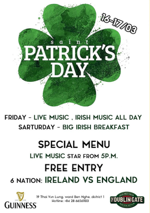 Saigon, Hoi An pubs celebrate unforgettable Saint Patricks Day - 1