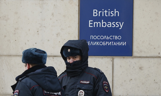 Russia expels 23 British diplomats in spy poisoning crisis