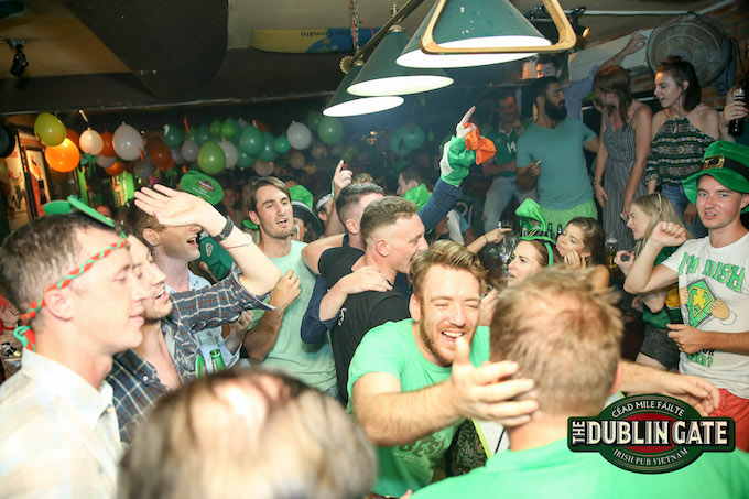 Saigon, Hoi An pubs celebrate unforgettable Saint Patricks Day