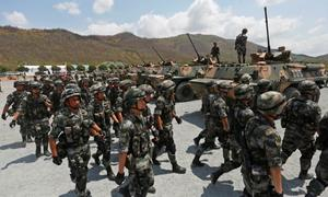 Cambodia kicks off drills with 'great friend' China as US ties sour