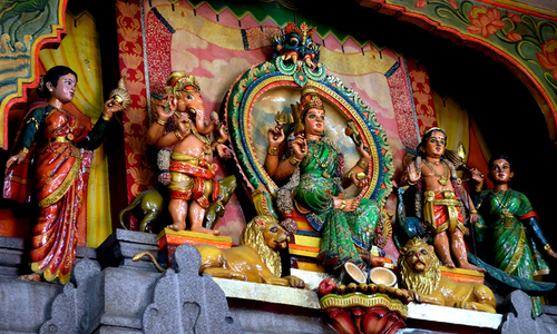 Experience Hinduism at this temple in the heart of Saigon
