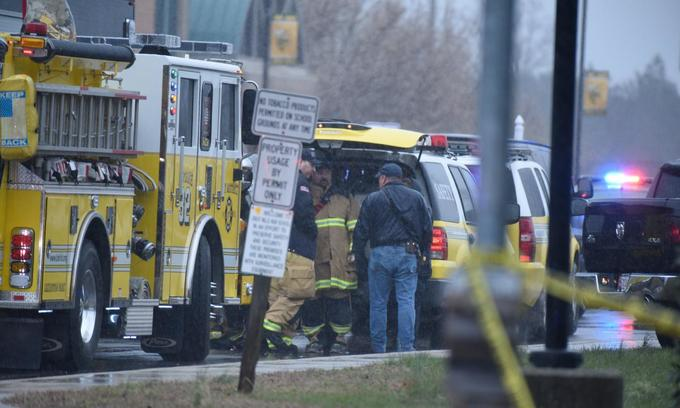 Two wounded in Maryland school shooting, student gunman dies