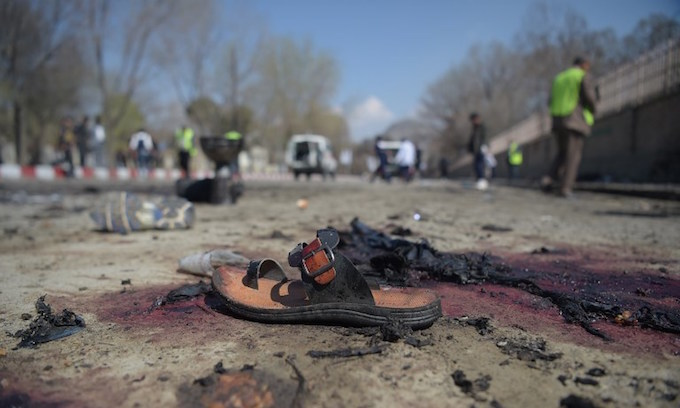 IS suicide bomber kills dozens as Kabul marks Persian New Year