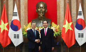 Vietnam, South Korea agree to do $100 billion in bilateral trade by 2020
