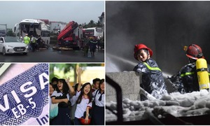 Weekly roundup: Saigon's deadliest fire in years, Hanoi traffic mayhem, Vietnamese students among region's smartest and more