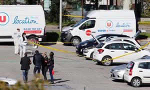 Islamist gunman attacks French supermarket, kills three