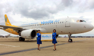 Japanese budget carrier Vanilla Air jets out of Vietnam