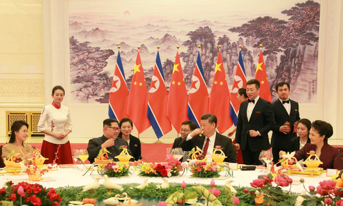 China says North Korea pledges denuclearization during friendly visit
