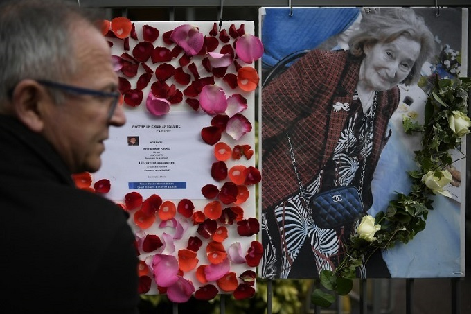 Two charged with anti-Semitic murder of elderly French Jewish woman