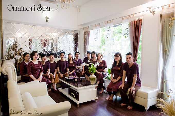 No tip is required for the professional staff at Omamori Spa. Photo by Kim Cuong