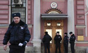 Russia orders out 60 US diplomats over spy poisoning affair