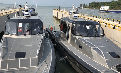 US delivers six patrol boats to Vietnam's Coast Guard
