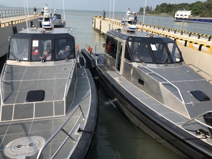 US delivers six patrol boats to Vietnam's Coast Guard