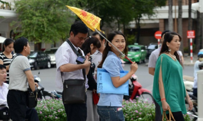 Chinese tourists to Vietnam skyrocket 42.9 percent in Q1