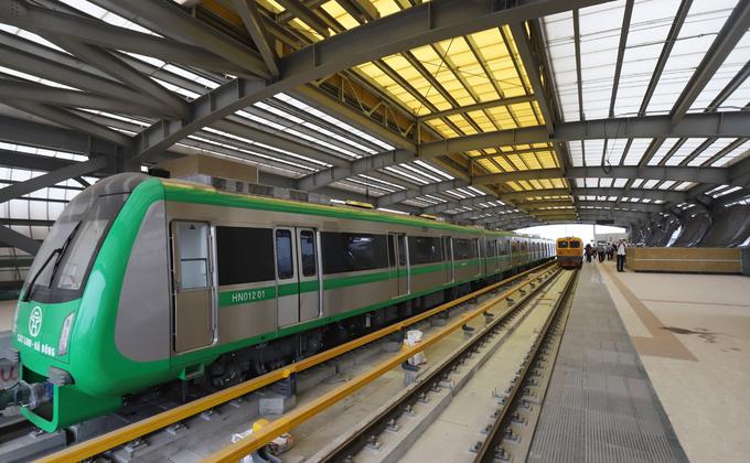 Hanoi's long-delayed sky train set for test run in September, again