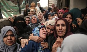Gazans bury their dead after bloodiest day in years