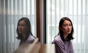 Japanese women confront grim taboo by saying 'me too'