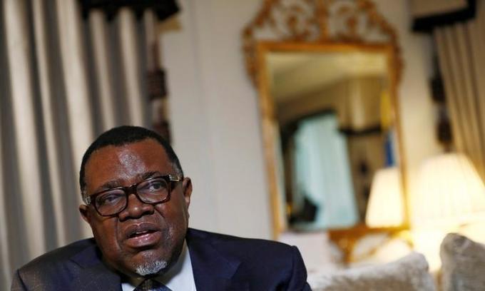 Namibia president says China not colonizing Africa: China state media