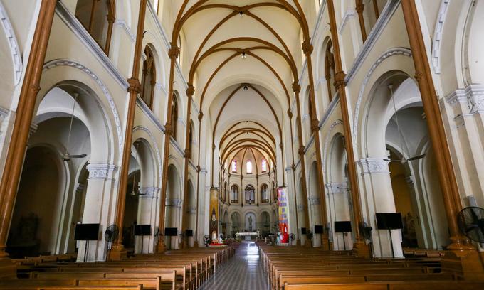 Priests put $6 mln price tag on renovation of Saigon cathedral