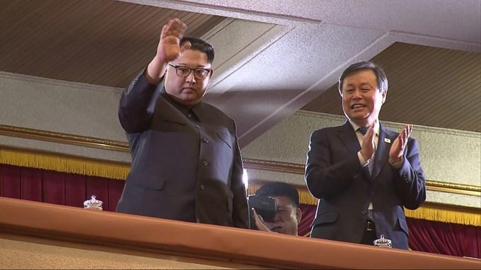 Kim Jong Un attends rare concert by South Korean pop stars