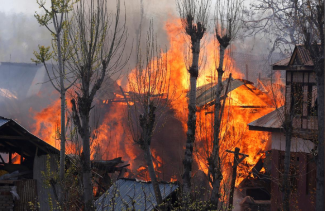 Violence erupts in Kashmir after security forces kill militants: police