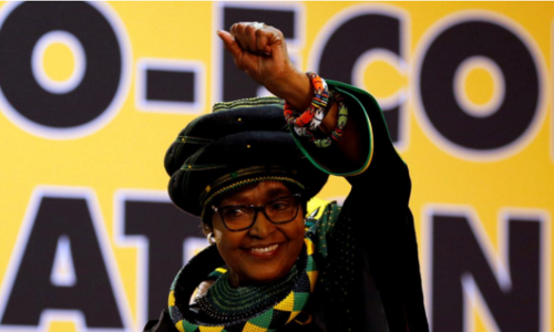 Winnie Mandela, tainted anti-apartheid figurehead, dies at 81