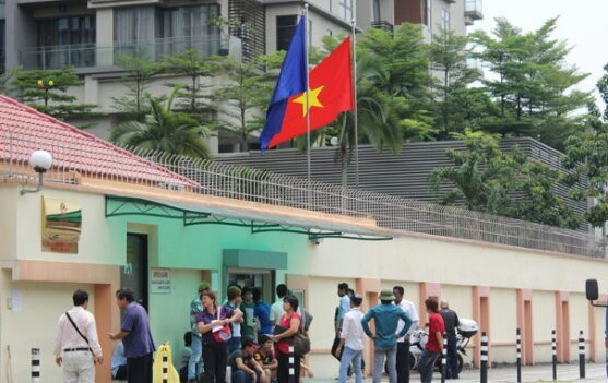 Vietnamese woman stabs herself to death at embassy in Malaysia