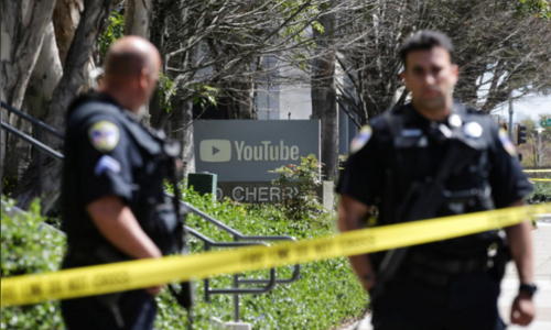 Woman wounds three at YouTube headquarters in California, then kills herself
