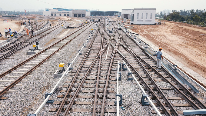 The railways are under construction.Every train going in and out the Depot has to undergo safety checks regularly. They are cleaned and maintained after each session.