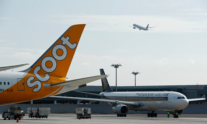 Thailand-bound flight escorted safely back to Singapore after bomb threat