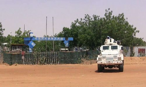 UN says peacekeeper shot dead in northern Mali