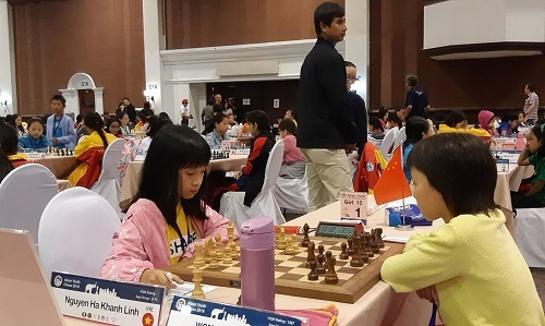 Vietnam comes second at Asian youth chess tournament