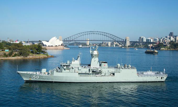Three Australian navy ships to make port call in Vietnam: embassy