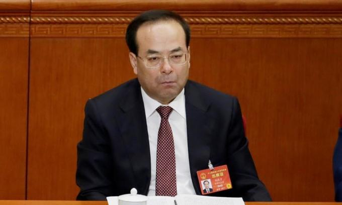 China opens bribery trial of former senior official