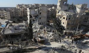 France warns of humanitarian disaster in Syrian city Idlib