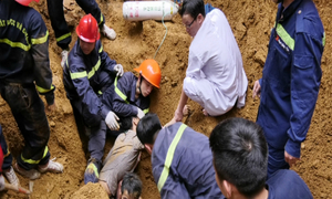 Landslide kills 3 at construction site in northern Vietnam