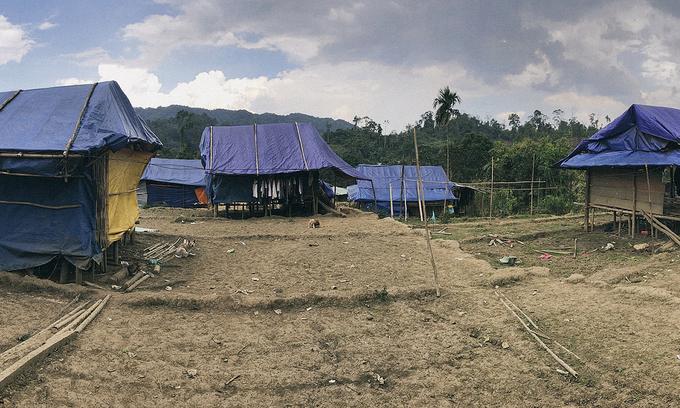 Storm-hit Vietnamese village in dire need of school for ethnic kids