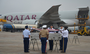 US repatriates soldiers who died during Vietnam War